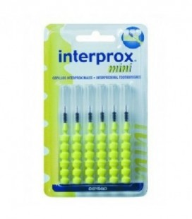 CEPILLO DENTAL INTERPROXIMAL - INTERPROX (MINI 6 U)