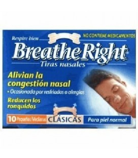 BREATHE RIGHT - TIRA NASAL (T- PEQ-MED 10 U)